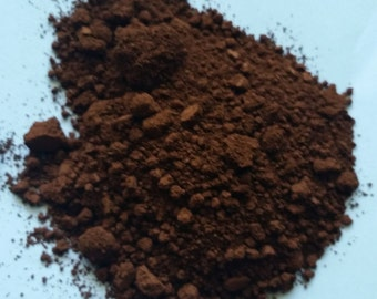 Free Shipping! 5g 5 Grams  Matte BROWN Oxide DIY Soap Make Up Cp Mp MnP Cosmetic Pigment Powder