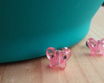 Adorable tiny butterfly earrings
