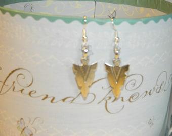 Rock style earrings