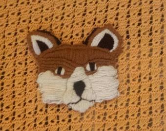 Fox Baby Blanket : Custom Made