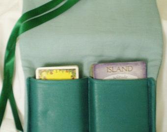 2 deck tarot card pouch