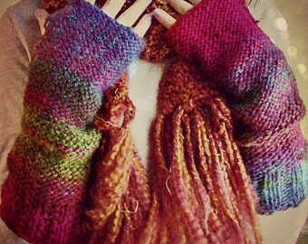 Fingerless Gloves, Boho, Arm Warmers, Texting Gloves, Boho Chic, Gift Idea, Women's Accessories