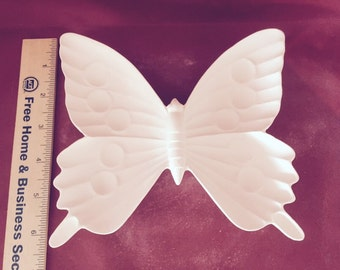 Ceramic Bisque Butterfly candy dish-ready to paint