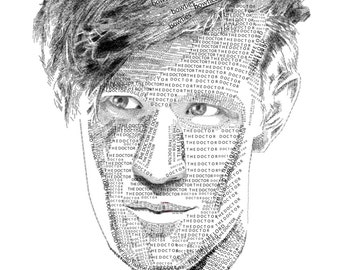 The Doctor's Typographic Portrait