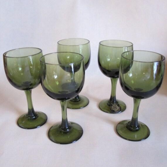 Vintage Sasaki Glass Handcrafted Japan Cordial Glass Or