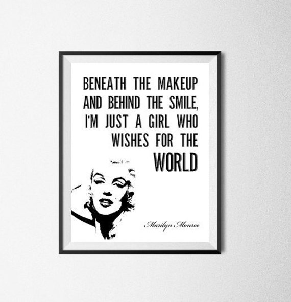 Poster Marilyn Monroe Quotes images