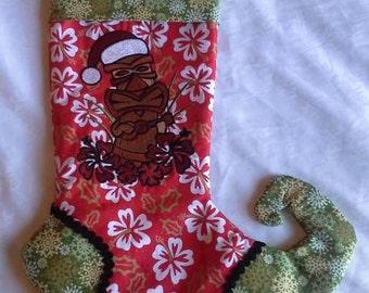 A Very Tiki Christmas Stocking