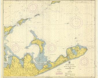 Montauk Map - Montauk Point 1951