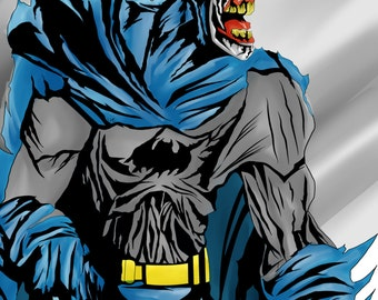Zombie Batman fan art
