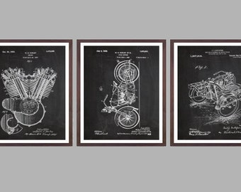 Harley Davidson Poster - motorcycle prints - Harley Poster - Harley Davidson Motorcycle - Harley Engine - Harley - Motorcycle, p13-p15