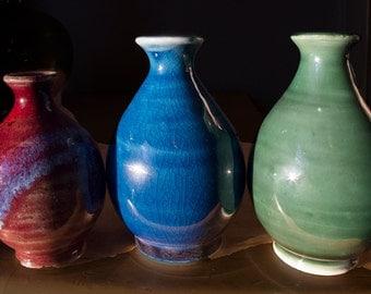 Mini Porcelain & Stoneware Vases
