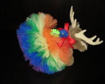 Rainbow dog tutu dress, rainbow tutu, dog dress, dog tutu, dog costume, pet tutu, dog accessories, rainbow costume, rainbow party, gay pride