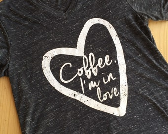 Coffee, I'm in love.