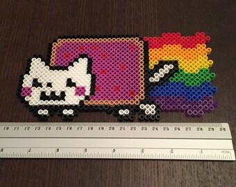 Perler Nyan Cat