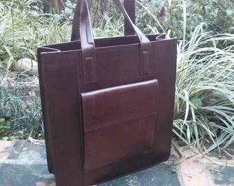 Leather Tote Bag, Custom Leather Bag, Custom Made Bags, Large Tote Bag, Custom Made Bags by Barismil.