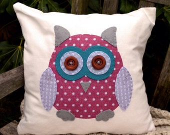 Owl Cushion - Cover Only
