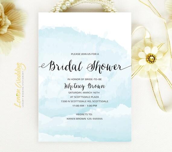 Wedding Bridal Shower Invitations Cheap Beach Bridal Shower