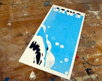 Jaws Screen Print