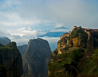 The Monasteries of Meteora, Greece