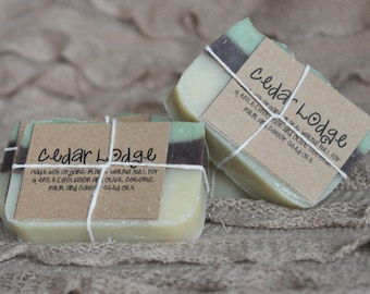 Cedar Lodge Soap