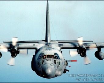 24x36 Poster; Ac-130 Spectre Gunship