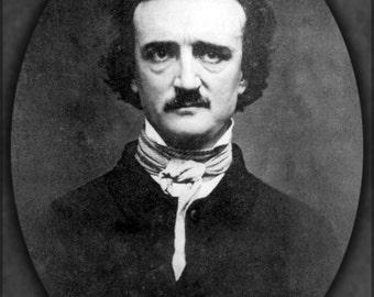 24x36 Poster; Edgar Allan Poe