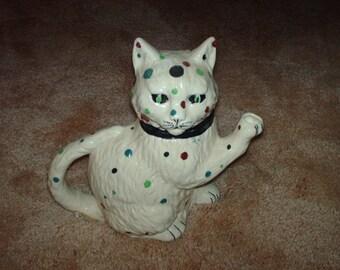 Spotted cat Tea Pot
