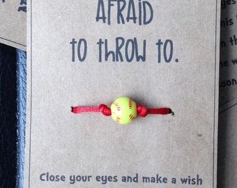 Softball Wish Bracelet