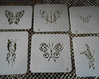 Butterflies Stencil Set 11!