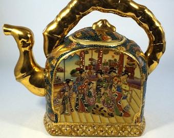 Chinese Satsuma Teapot