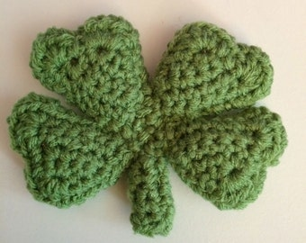 Lucky Four Leaf Clover Catnip Cat Toy