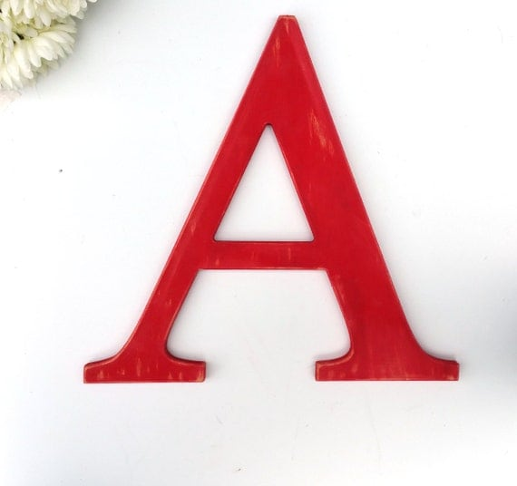 16 inch wooden letters by letteredwhimsy on etsy for 16 wooden letters