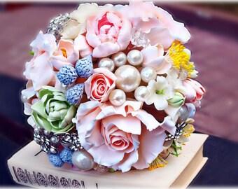"""Wedding Bouquet """"Beauty"""" - Weddings Flower Bouquets - Bridal Bouquets - Bouquet of Flowers - Flower Bouquets"""