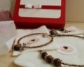 Amber Tzarina - necklace,...