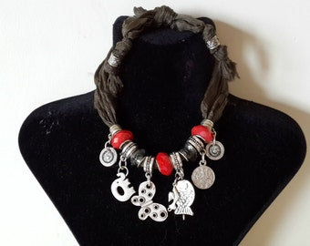 red pandora necklace