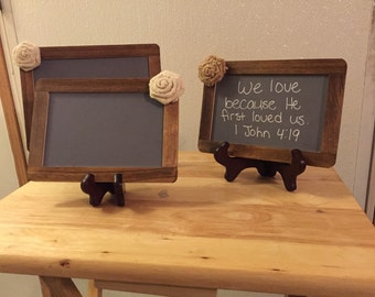 Three Chalkboard Decorations