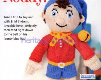 noddy toy dk knitting pattern 99p