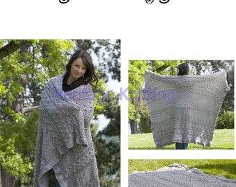 womens afghan knitting pattern 99p