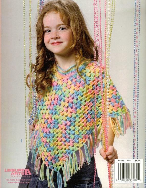 poncho crochet dk pattern 99p by Heritageknitting1 on Etsy