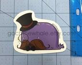Gentleman Goch Sticker