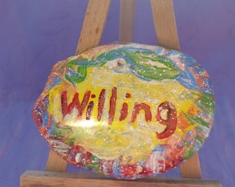 Aromatherapy Affirmation Stone - Willing