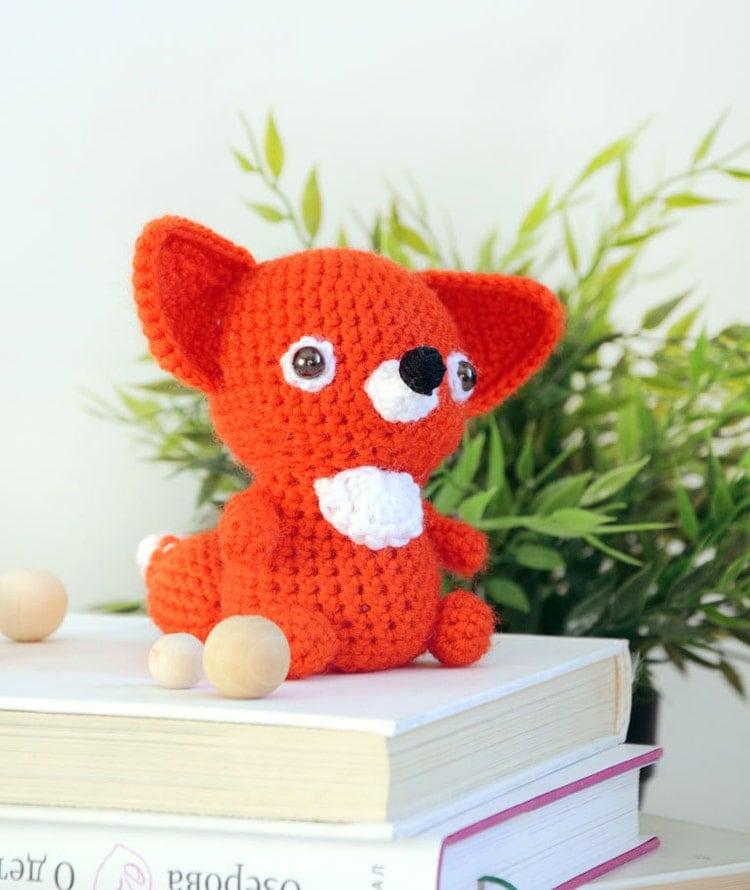 Red Fox PATTERN Amigurumi Pattern crochet pattern by ...