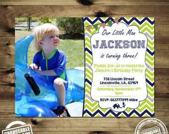 Boy Photo Birthday Invitation Bday_inv_002