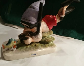 Hummel Goebel Gnome Co. Boy Gerd The Diver Figurine