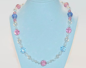 Swarovski 'Pink' Me Up Necklace