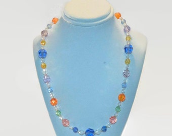 Swarovski Coral Reef Necklace