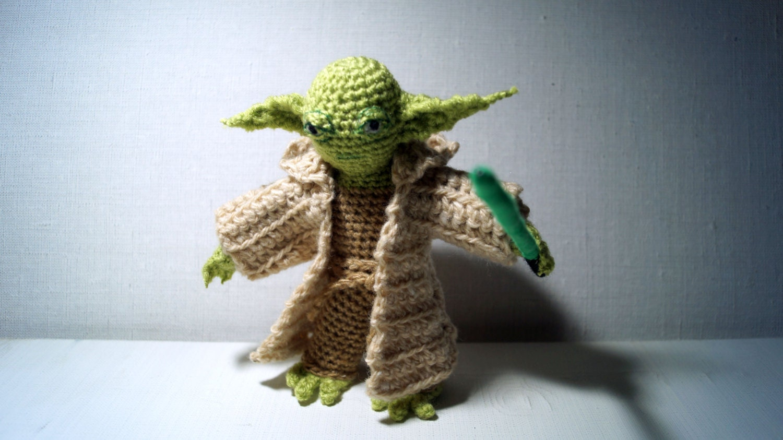 Jedi Master Yoda Amigurumi Pattern : Master Yoda Crochet Toy Amigurumi Pattern PDF by ...