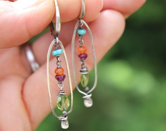 Bright Colorful Earrings