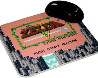 The Legend Of Zelda Mouse Pad, 8 Bit, NES, Nintendo