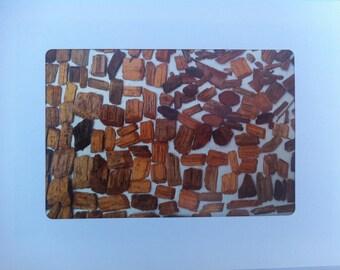 Jolie's Brickwood Greeting Card